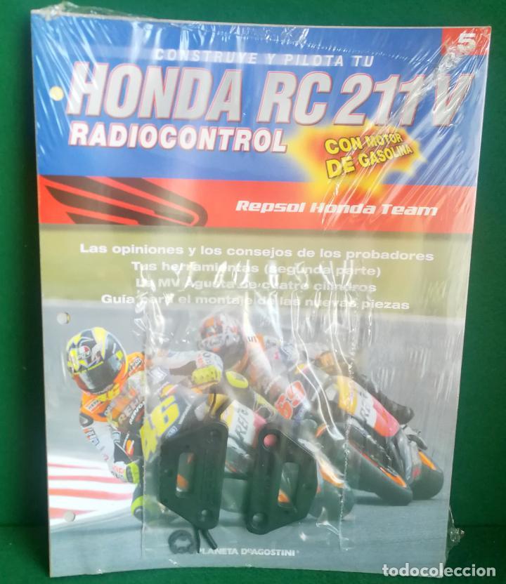 Radio Control: CONSTRUYE Y PILOTA TU HONDA RC 211 V - ESCALA 1/5 - PLANETA DEAGOSTINI - 56 FASCÍCULOS - JYA70 - Foto 28 - 269130918