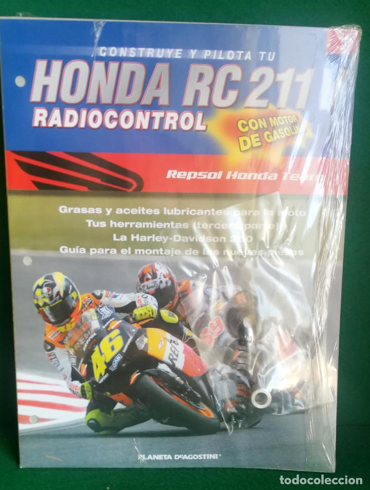 Radio Control: CONSTRUYE Y PILOTA TU HONDA RC 211 V - ESCALA 1/5 - PLANETA DEAGOSTINI - 56 FASCÍCULOS - JYA70 - Foto 30 - 269130918