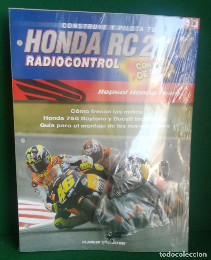 Radio Control: CONSTRUYE Y PILOTA TU HONDA RC 211 V - ESCALA 1/5 - PLANETA DEAGOSTINI - 56 FASCÍCULOS - JYA70 - Foto 32 - 269130918