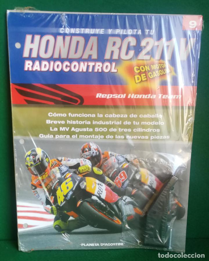 Radio Control: CONSTRUYE Y PILOTA TU HONDA RC 211 V - ESCALA 1/5 - PLANETA DEAGOSTINI - 56 FASCÍCULOS - JYA70 - Foto 33 - 269130918