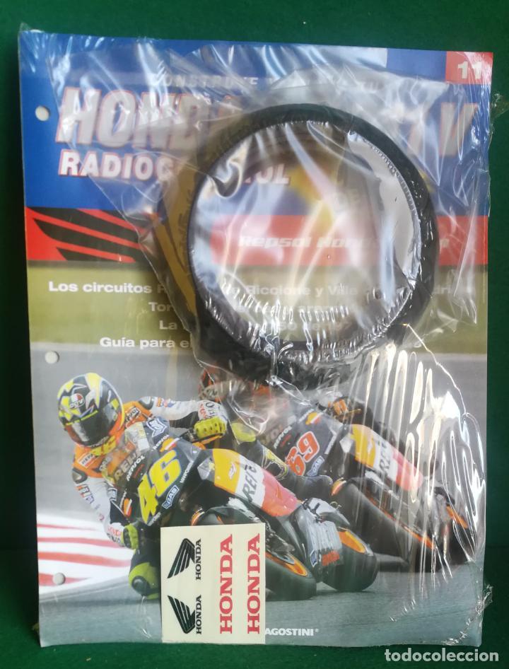 Radio Control: CONSTRUYE Y PILOTA TU HONDA RC 211 V - ESCALA 1/5 - PLANETA DEAGOSTINI - 56 FASCÍCULOS - JYA70 - Foto 34 - 269130918
