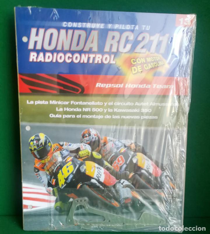 Radio Control: CONSTRUYE Y PILOTA TU HONDA RC 211 V - ESCALA 1/5 - PLANETA DEAGOSTINI - 56 FASCÍCULOS - JYA70 - Foto 35 - 269130918