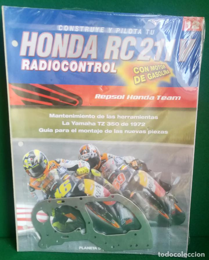 Radio Control: CONSTRUYE Y PILOTA TU HONDA RC 211 V - ESCALA 1/5 - PLANETA DEAGOSTINI - 56 FASCÍCULOS - JYA70 - Foto 36 - 269130918