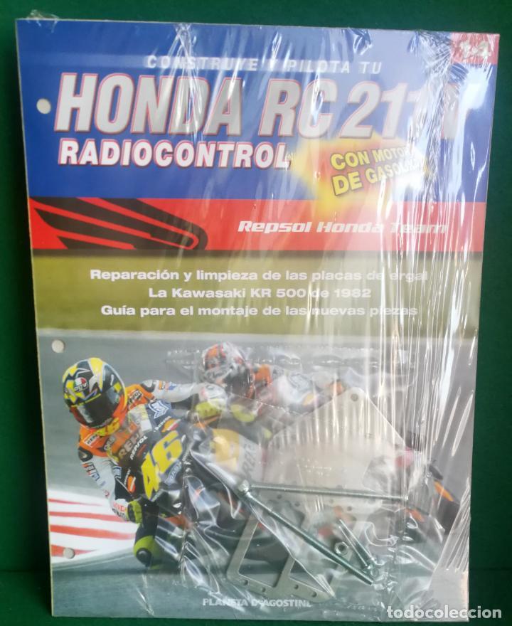 Radio Control: CONSTRUYE Y PILOTA TU HONDA RC 211 V - ESCALA 1/5 - PLANETA DEAGOSTINI - 56 FASCÍCULOS - JYA70 - Foto 37 - 269130918