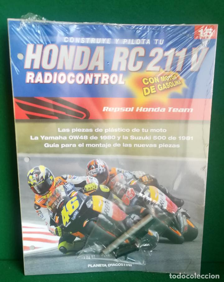 Radio Control: CONSTRUYE Y PILOTA TU HONDA RC 211 V - ESCALA 1/5 - PLANETA DEAGOSTINI - 56 FASCÍCULOS - JYA70 - Foto 38 - 269130918