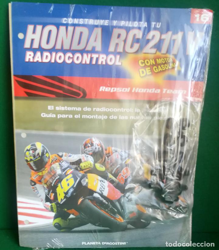 Radio Control: CONSTRUYE Y PILOTA TU HONDA RC 211 V - ESCALA 1/5 - PLANETA DEAGOSTINI - 56 FASCÍCULOS - JYA70 - Foto 39 - 269130918