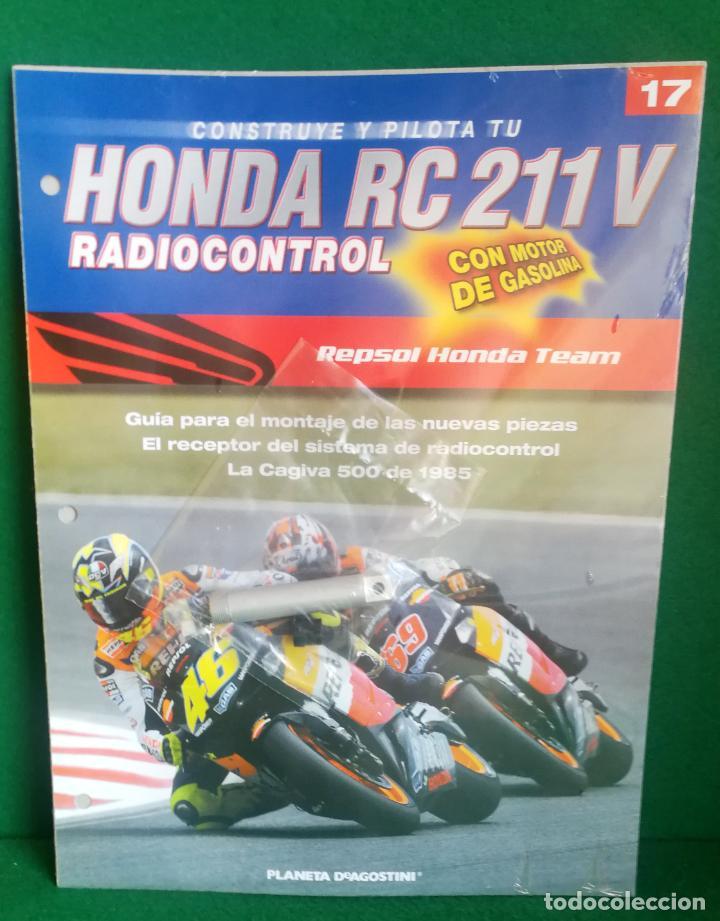 Radio Control: CONSTRUYE Y PILOTA TU HONDA RC 211 V - ESCALA 1/5 - PLANETA DEAGOSTINI - 56 FASCÍCULOS - JYA70 - Foto 40 - 269130918