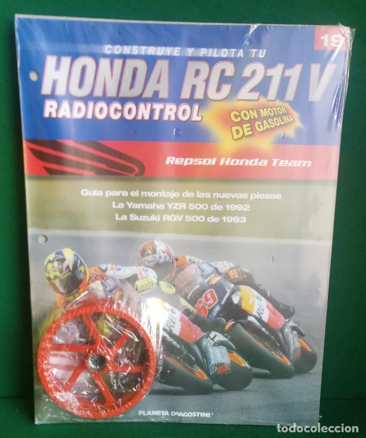 Radio Control: CONSTRUYE Y PILOTA TU HONDA RC 211 V - ESCALA 1/5 - PLANETA DEAGOSTINI - 56 FASCÍCULOS - JYA70 - Foto 41 - 269130918