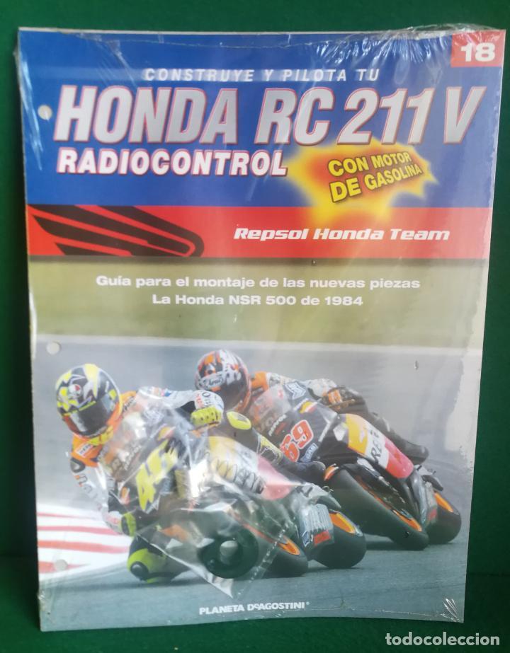 Radio Control: CONSTRUYE Y PILOTA TU HONDA RC 211 V - ESCALA 1/5 - PLANETA DEAGOSTINI - 56 FASCÍCULOS - JYA70 - Foto 42 - 269130918
