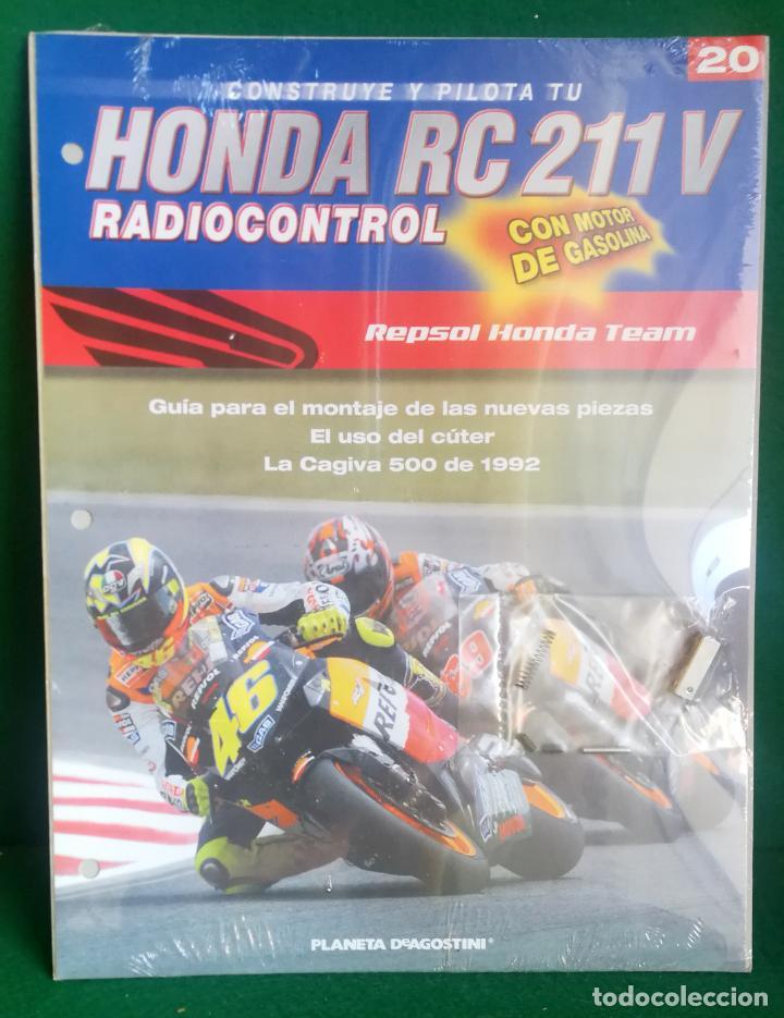 Radio Control: CONSTRUYE Y PILOTA TU HONDA RC 211 V - ESCALA 1/5 - PLANETA DEAGOSTINI - 56 FASCÍCULOS - JYA70 - Foto 43 - 269130918