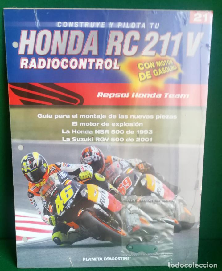 Radio Control: CONSTRUYE Y PILOTA TU HONDA RC 211 V - ESCALA 1/5 - PLANETA DEAGOSTINI - 56 FASCÍCULOS - JYA70 - Foto 44 - 269130918