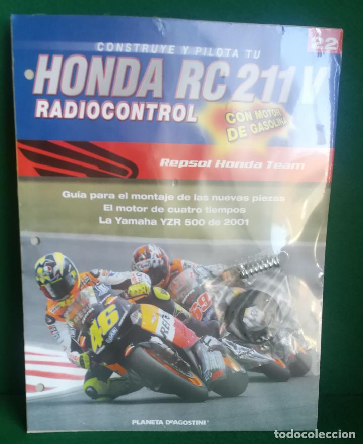 Radio Control: CONSTRUYE Y PILOTA TU HONDA RC 211 V - ESCALA 1/5 - PLANETA DEAGOSTINI - 56 FASCÍCULOS - JYA70 - Foto 45 - 269130918