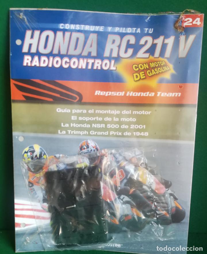 Radio Control: CONSTRUYE Y PILOTA TU HONDA RC 211 V - ESCALA 1/5 - PLANETA DEAGOSTINI - 56 FASCÍCULOS - JYA70 - Foto 46 - 269130918