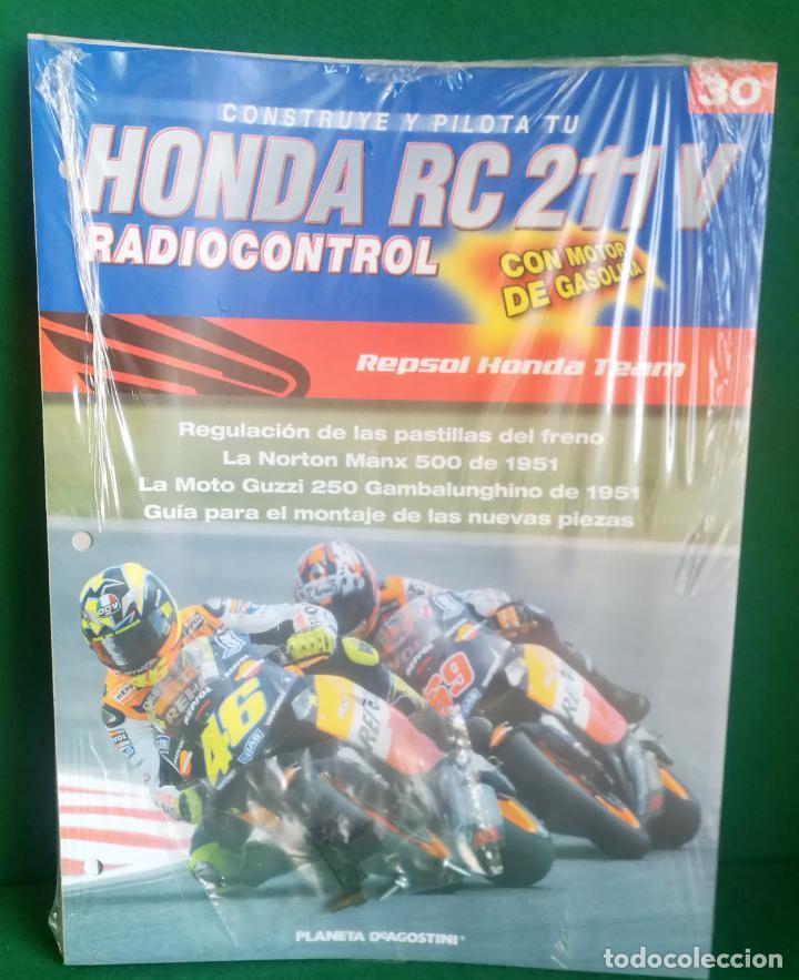 Radio Control: CONSTRUYE Y PILOTA TU HONDA RC 211 V - ESCALA 1/5 - PLANETA DEAGOSTINI - 56 FASCÍCULOS - JYA70 - Foto 48 - 269130918