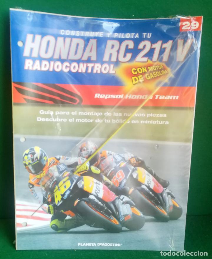 Radio Control: CONSTRUYE Y PILOTA TU HONDA RC 211 V - ESCALA 1/5 - PLANETA DEAGOSTINI - 56 FASCÍCULOS - JYA70 - Foto 49 - 269130918