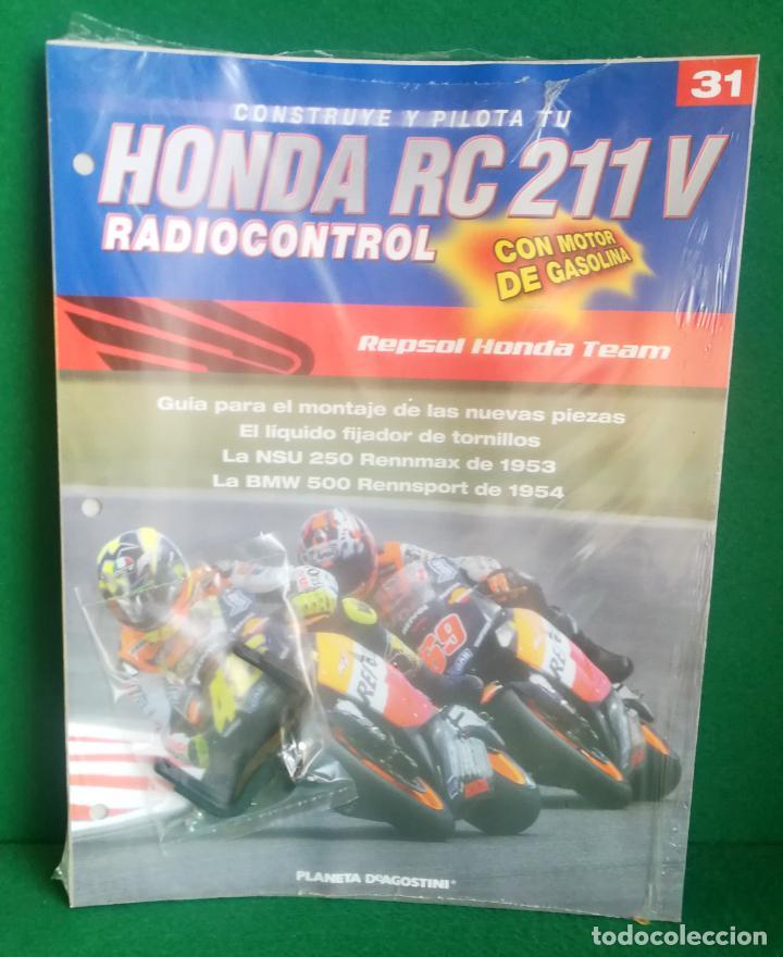 Radio Control: CONSTRUYE Y PILOTA TU HONDA RC 211 V - ESCALA 1/5 - PLANETA DEAGOSTINI - 56 FASCÍCULOS - JYA70 - Foto 50 - 269130918