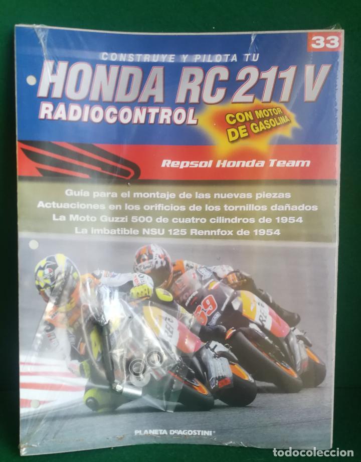 Radio Control: CONSTRUYE Y PILOTA TU HONDA RC 211 V - ESCALA 1/5 - PLANETA DEAGOSTINI - 56 FASCÍCULOS - JYA70 - Foto 51 - 269130918