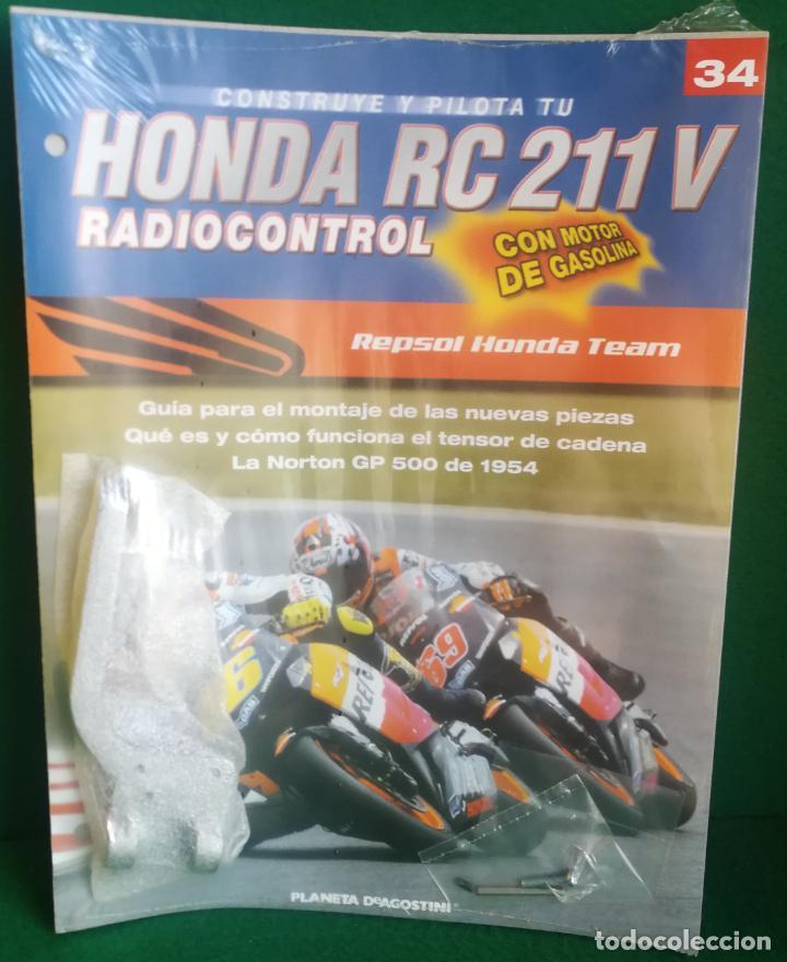 Radio Control: CONSTRUYE Y PILOTA TU HONDA RC 211 V - ESCALA 1/5 - PLANETA DEAGOSTINI - 56 FASCÍCULOS - JYA70 - Foto 54 - 269130918