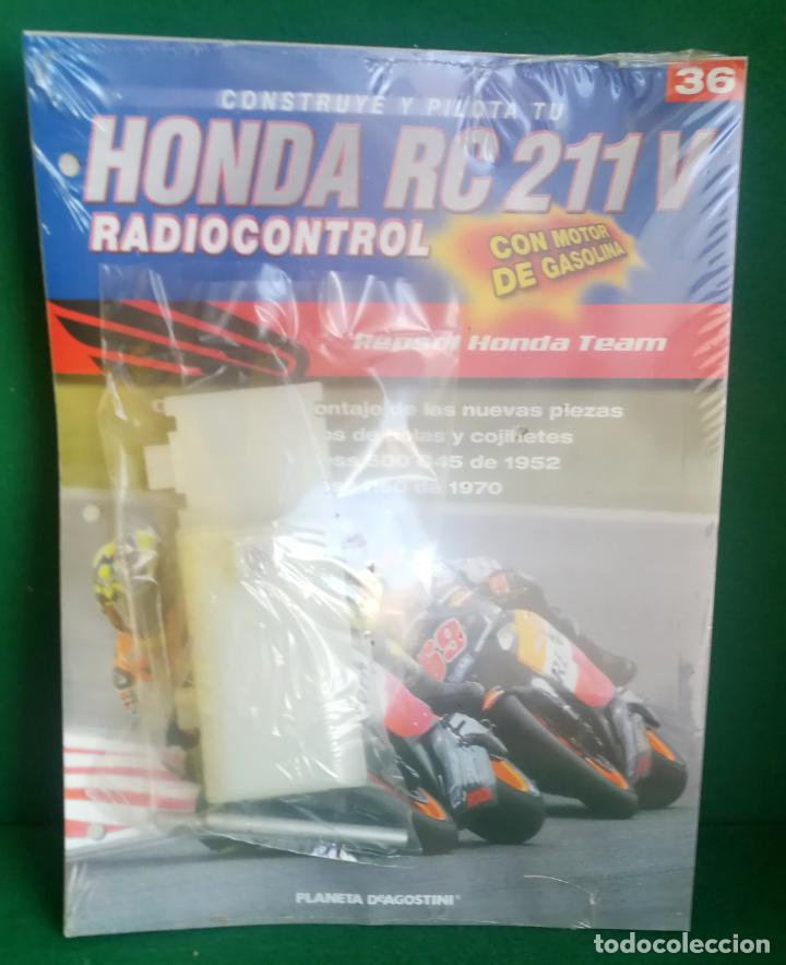 Radio Control: CONSTRUYE Y PILOTA TU HONDA RC 211 V - ESCALA 1/5 - PLANETA DEAGOSTINI - 56 FASCÍCULOS - JYA70 - Foto 55 - 269130918