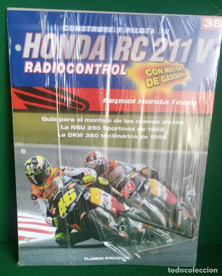 Radio Control: CONSTRUYE Y PILOTA TU HONDA RC 211 V - ESCALA 1/5 - PLANETA DEAGOSTINI - 56 FASCÍCULOS - JYA70 - Foto 56 - 269130918