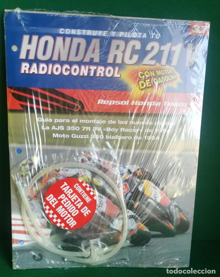 Radio Control: CONSTRUYE Y PILOTA TU HONDA RC 211 V - ESCALA 1/5 - PLANETA DEAGOSTINI - 56 FASCÍCULOS - JYA70 - Foto 57 - 269130918