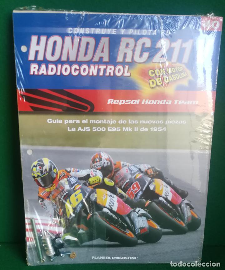 Radio Control: CONSTRUYE Y PILOTA TU HONDA RC 211 V - ESCALA 1/5 - PLANETA DEAGOSTINI - 56 FASCÍCULOS - JYA70 - Foto 58 - 269130918