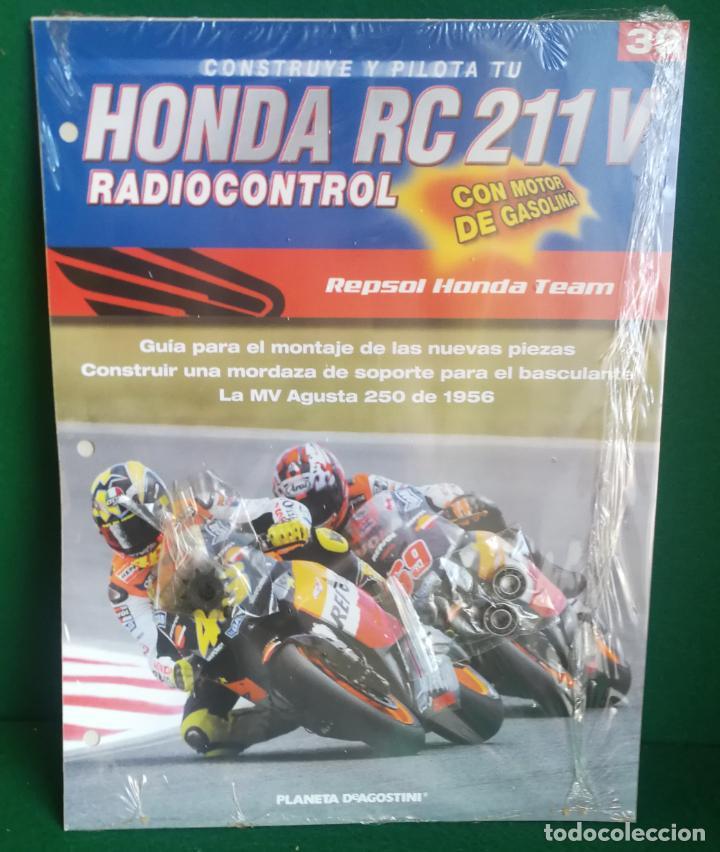 Radio Control: CONSTRUYE Y PILOTA TU HONDA RC 211 V - ESCALA 1/5 - PLANETA DEAGOSTINI - 56 FASCÍCULOS - JYA70 - Foto 59 - 269130918