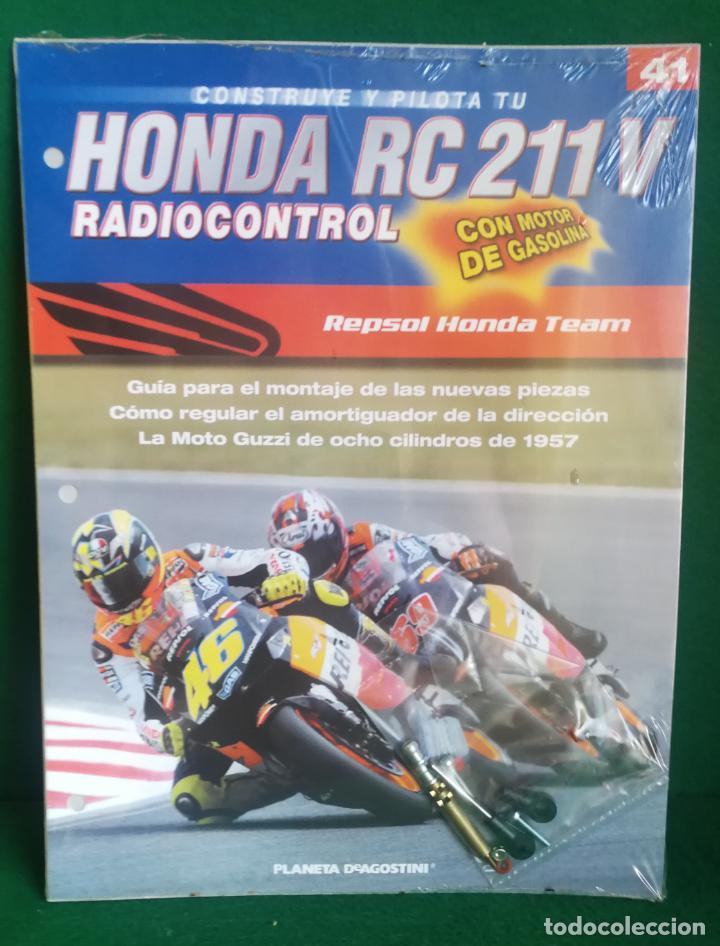 Radio Control: CONSTRUYE Y PILOTA TU HONDA RC 211 V - ESCALA 1/5 - PLANETA DEAGOSTINI - 56 FASCÍCULOS - JYA70 - Foto 61 - 269130918