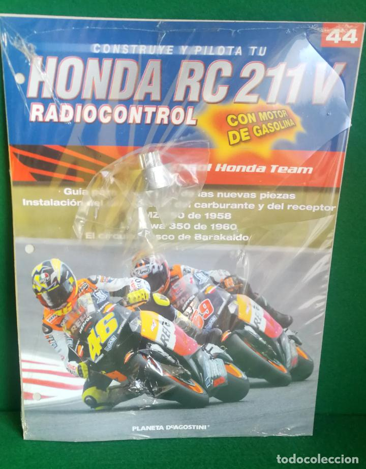 Radio Control: CONSTRUYE Y PILOTA TU HONDA RC 211 V - ESCALA 1/5 - PLANETA DEAGOSTINI - 56 FASCÍCULOS - JYA70 - Foto 63 - 269130918