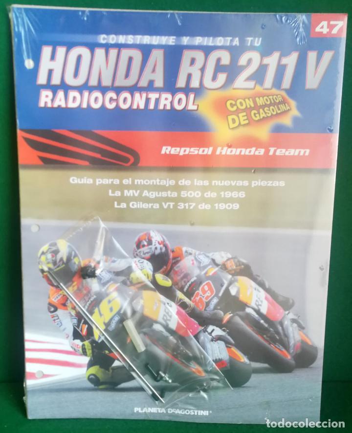 Radio Control: CONSTRUYE Y PILOTA TU HONDA RC 211 V - ESCALA 1/5 - PLANETA DEAGOSTINI - 56 FASCÍCULOS - JYA70 - Foto 66 - 269130918