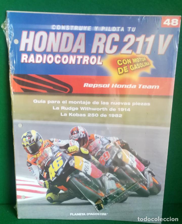 Radio Control: CONSTRUYE Y PILOTA TU HONDA RC 211 V - ESCALA 1/5 - PLANETA DEAGOSTINI - 56 FASCÍCULOS - JYA70 - Foto 68 - 269130918
