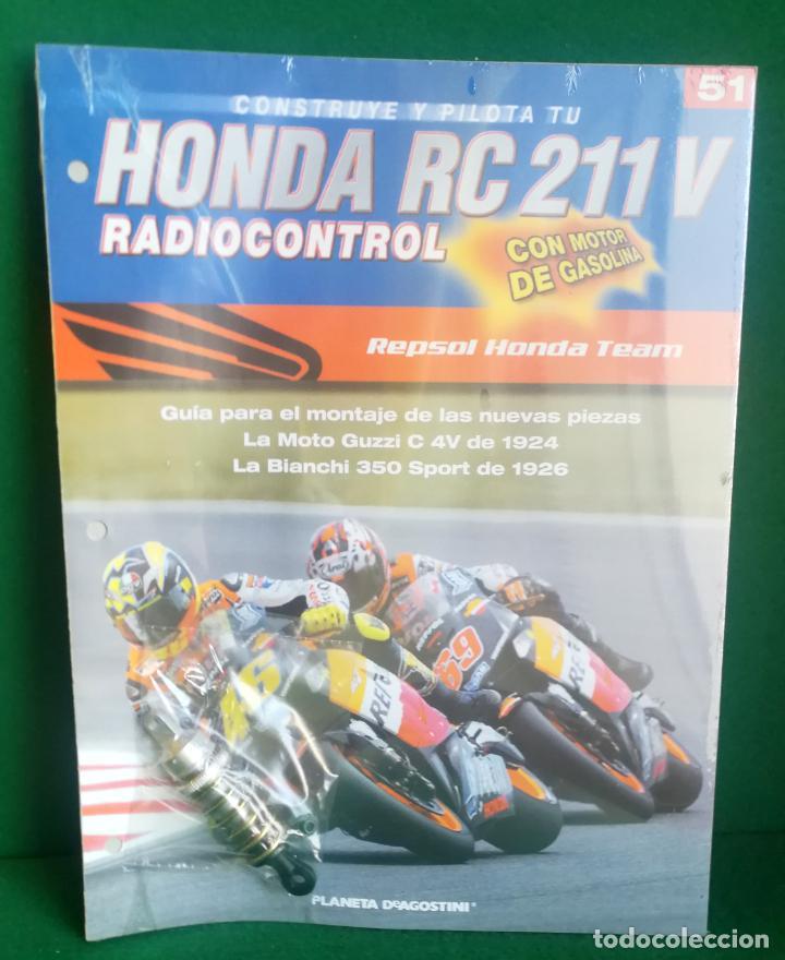 Radio Control: CONSTRUYE Y PILOTA TU HONDA RC 211 V - ESCALA 1/5 - PLANETA DEAGOSTINI - 56 FASCÍCULOS - JYA70 - Foto 69 - 269130918