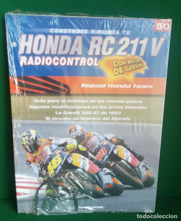 Radio Control: CONSTRUYE Y PILOTA TU HONDA RC 211 V - ESCALA 1/5 - PLANETA DEAGOSTINI - 56 FASCÍCULOS - JYA70 - Foto 70 - 269130918