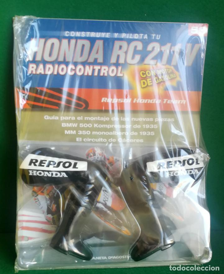 Radio Control: CONSTRUYE Y PILOTA TU HONDA RC 211 V - ESCALA 1/5 - PLANETA DEAGOSTINI - 56 FASCÍCULOS - JYA70 - Foto 2 - 269130918
