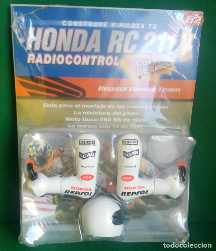 Radio Control: CONSTRUYE Y PILOTA TU HONDA RC 211 V - ESCALA 1/5 - PLANETA DEAGOSTINI - 56 FASCÍCULOS - JYA70 - Foto 3 - 269130918