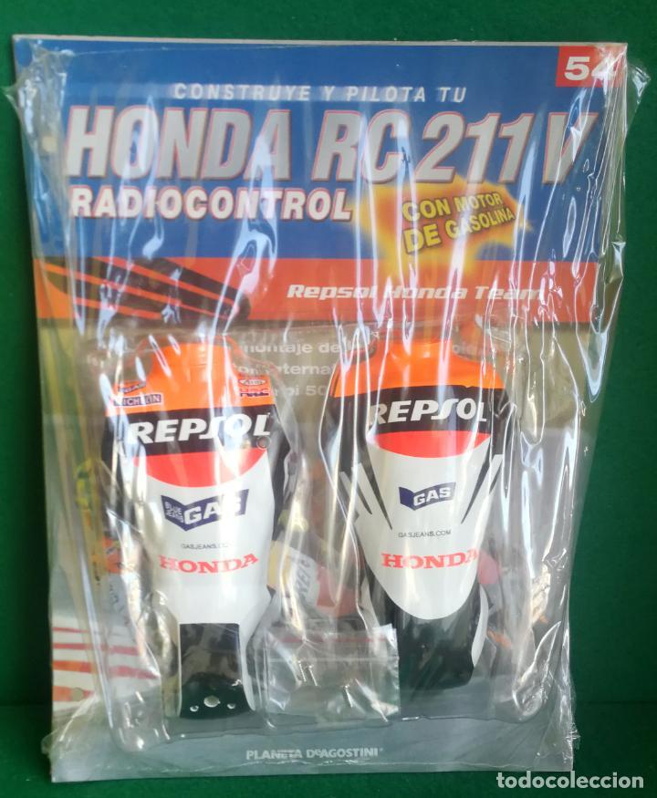 Radio Control: CONSTRUYE Y PILOTA TU HONDA RC 211 V - ESCALA 1/5 - PLANETA DEAGOSTINI - 56 FASCÍCULOS - JYA70 - Foto 4 - 269130918
