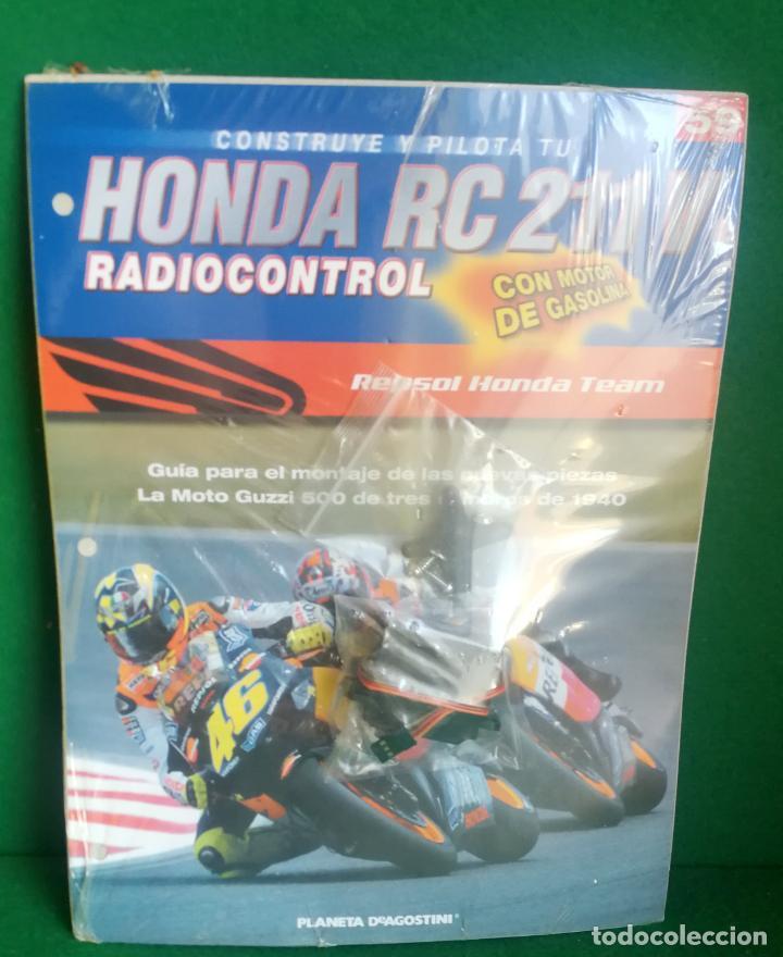 Radio Control: CONSTRUYE Y PILOTA TU HONDA RC 211 V - ESCALA 1/5 - PLANETA DEAGOSTINI - 56 FASCÍCULOS - JYA70 - Foto 9 - 269130918