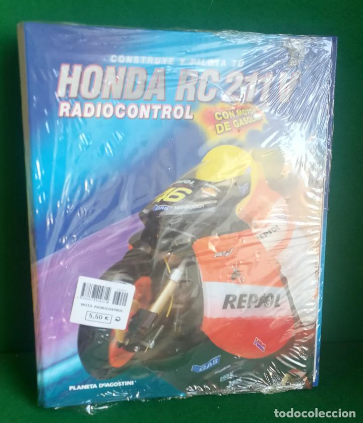 Radio Control: CONSTRUYE Y PILOTA TU HONDA RC 211 V - ESCALA 1/5 - PLANETA DEAGOSTINI - 56 FASCÍCULOS - JYA70 - Foto 12 - 269130918