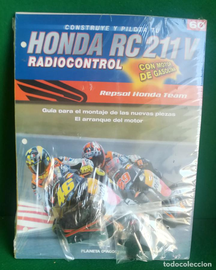Radio Control: CONSTRUYE Y PILOTA TU HONDA RC 211 V - ESCALA 1/5 - PLANETA DEAGOSTINI - 56 FASCÍCULOS - JYA70 - Foto 10 - 269130918