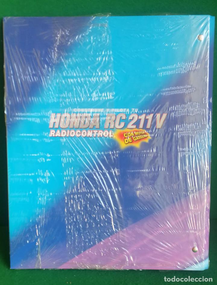 Radio Control: CONSTRUYE Y PILOTA TU HONDA RC 211 V - ESCALA 1/5 - PLANETA DEAGOSTINI - 56 FASCÍCULOS - JYA70 - Foto 13 - 269130918