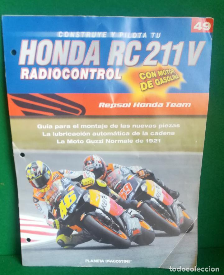 Radio Control: CONSTRUYE Y PILOTA TU HONDA RC 211 V - ESCALA 1/5 - PLANETA DEAGOSTINI - 56 FASCÍCULOS - JYA70 - Foto 60 - 269130918