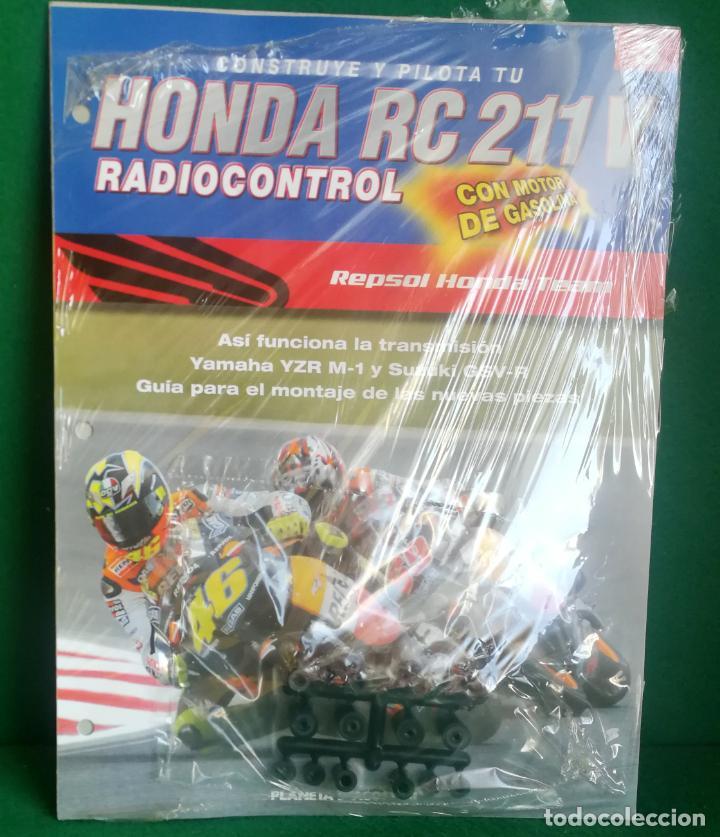 Radio Control: CONSTRUYE Y PILOTA TU HONDA RC 211 V - ESCALA 1/5 - PLANETA DEAGOSTINI - 56 FASCÍCULOS - JYA70 - Foto 26 - 269130918