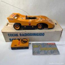 Radiocommande: COCHE RADIODIRIGIDO BIANCHI RAY-1 - AÑOS 70S + CAJA ORIGINAL. Lote 269209778