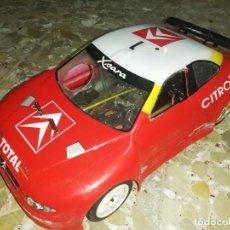 Radio Control: COCHE RC GASOLINA CITROEN XSARA WRC MONTECARLO 2003 ALTAYA (C. SAINZ / M. MARTI ). Lote 275600448