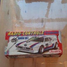 Radio Control: COCHE BMW M1, DE JOUSTRA RADIO CONTROL, EN CAJA.PARA PIEZAS.. Lote 283850893