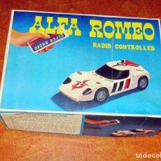 Radio Control: ALFA ROMEO 1600 SCARABEO RADIO CONTROL EN BUEN ESTADO. Lote 290209378