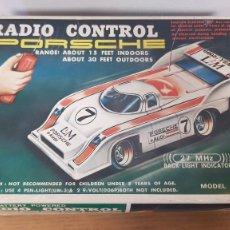 Radio Control: VINTAGE COCHE PORSCHE RADIO CONTROL T.T. 70001 MADE IN TAIWAN MINI DELA-CON. Lote 295564128