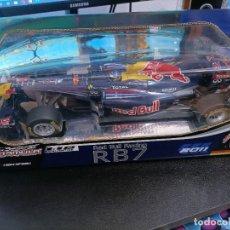 Radio Control: RED BULL RACING RB7 VETTEL TELEDIRIGIDO.NUEVO PRECINTADO. Lote 295970238