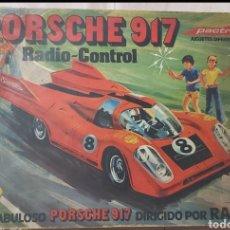 Radio Control: PORCHE 917 RADIO CONTROL PACTRA ANTIGUO. Lote 297099933
