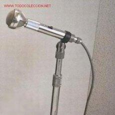 Radios antiguas: MICRÓFONO ANTIGUO TODO METÁLICO. Lote 27541781